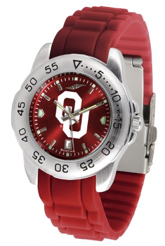 Oklahoma Sooners Sport Silicone Men's Watch