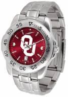 Oklahoma Sooners Sport Steel AnoChrome Men's Watch