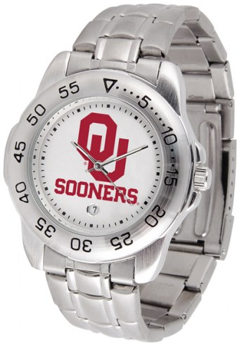 Oklahoma Sooners Sport Steel Men's Watch