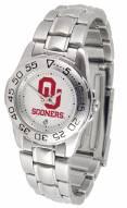 Oklahoma Sooners Sport Steel Women's Watch