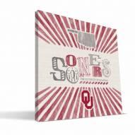 Oklahoma Sooners State Canvas Print
