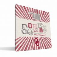 Oklahoma Sooners State Canvas Print