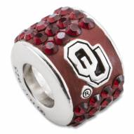 Oklahoma Sooners Sterling Silver Charm Bead