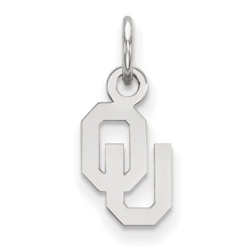 Oklahoma Sooners Sterling Silver Extra Small Pendant