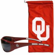 Oklahoma Sooners Sunglasses and Bag Set