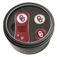 Oklahoma Sooners Switchfix Golf Divot Tool & Ball Markers