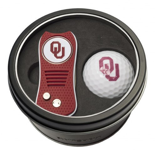 Oklahoma Sooners Switchfix Golf Divot Tool & Ball