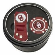 Oklahoma Sooners Switchfix Golf Divot Tool & Chip