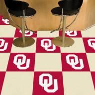 Oklahoma Sooners Team Carpet Tiles