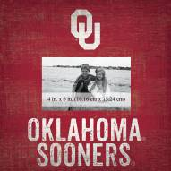"Oklahoma Sooners Team Name 10"" x 10"" Picture Frame"