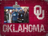Oklahoma Sooners Team Name Clip Frame