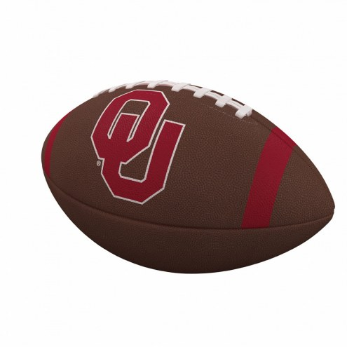 Oklahoma Sooners Team Stripe Official Size Composite Football