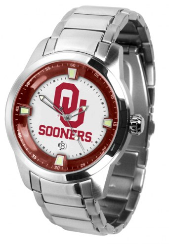 Oklahoma Sooners Titan Steel Men's Watch