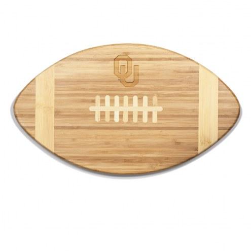 Oklahoma Sooners Touchdown Cutting Board