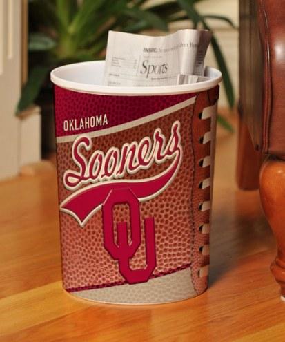Oklahoma Sooners Trash Can