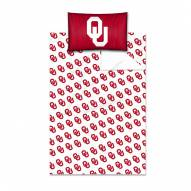 Oklahoma Sooners Twin Bed Sheets