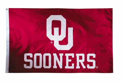 Oklahoma Sooners Two Sided 3' x 5' Flag