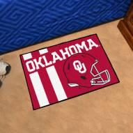 Oklahoma Sooners Uniform Inspired Starter Rug