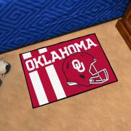 Oklahoma Sooners Uniform Inspired Starter Rug