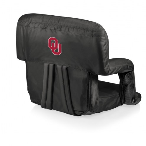 Oklahoma Sooners Ventura Portable Outdoor Recliner