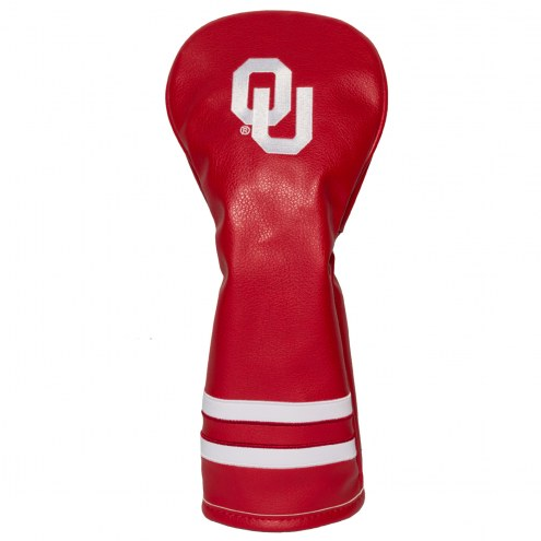 Oklahoma Sooners Vintage Golf Fairway Headcover