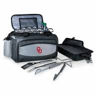 Oklahoma Sooners Vulcan Cooler & Propane Grill