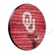 Oklahoma Sooners Weathered Design Hook & Ring Game