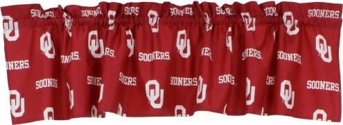 Oklahoma Sooners Window Valance