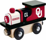 Oklahoma Sooners Wood Toy Train