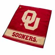 Oklahoma Sooners Woven Golf Towel
