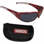 Oklahoma Sooners Wrap Sunglasses and Case Set