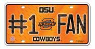 Oklahoma State Cowboys #1 Fan License Plate