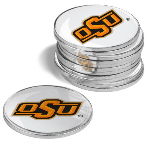 Oklahoma State Cowboys 12-Pack Golf Ball Markers
