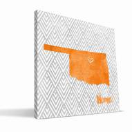 "Oklahoma State Cowboys 12"" x 12"" Home Canvas Print"