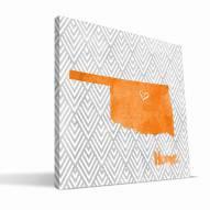 "Oklahoma State Cowboys 12"" x 12"" Home Canvas Print"