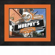 Oklahoma State Cowboys 13 x 16 Personalized Framed Sports Pub Print