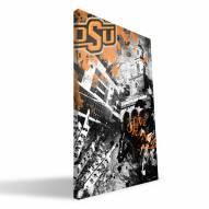 "Oklahoma State Cowboys 16"" x 24"" Spirit Canvas Print"