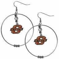 """Oklahoma State Cowboys 2"""" Hoop Earrings"""