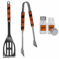 Oklahoma State Cowboys 2 Piece BBQ Set with Salt & Pepper Shakers