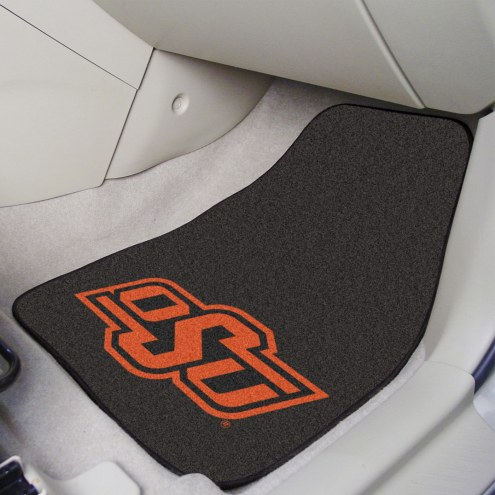 Oklahoma State Cowboys 2-Piece Carpet Car Mats
