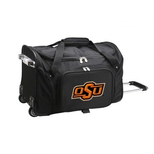 "Oklahoma State Cowboys 22"" Rolling Duffle Bag"
