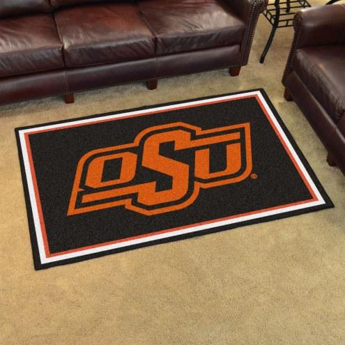 Oklahoma State Cowboys 4' x 6' Area Rug