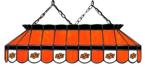 "Oklahoma State Cowboys 40"" Stained Glass Pool Table Light"