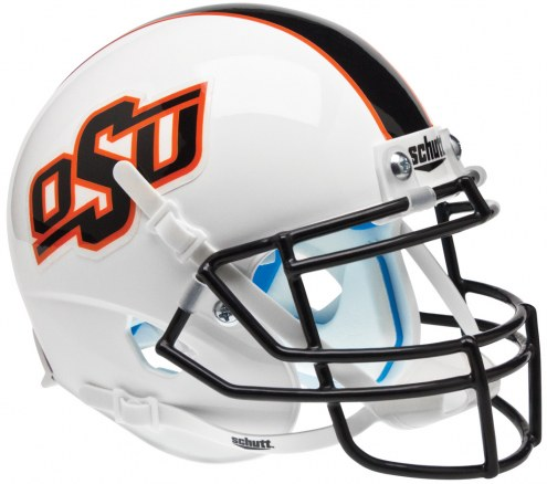 Oklahoma State Cowboys Alternate 9 Schutt Mini Football Helmet