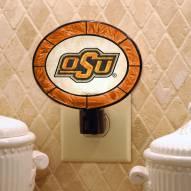 Oklahoma State Cowboys Art Glass Night Light