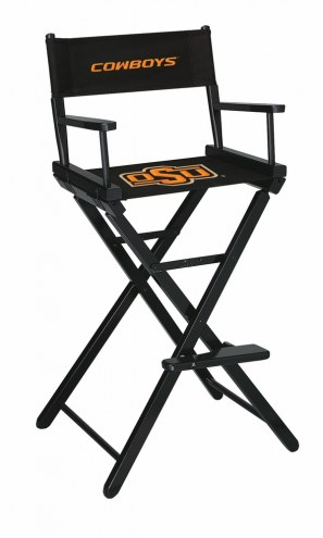 Oklahoma State Cowboys Bar Height Director's Chair