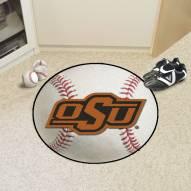 Oklahoma State Cowboys Baseball Rug