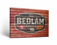 Oklahoma State Cowboys Bedlam Series Rivalry Canvas Wall Art