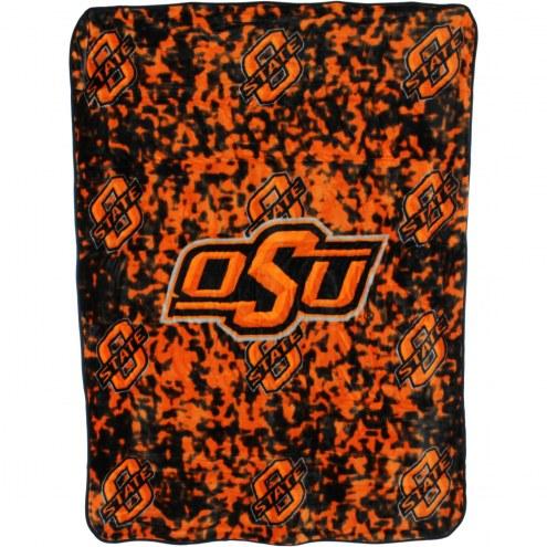 Oklahoma State Cowboys Bedspread