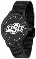 Oklahoma State Cowboys Black Dial Mesh Statement Watch